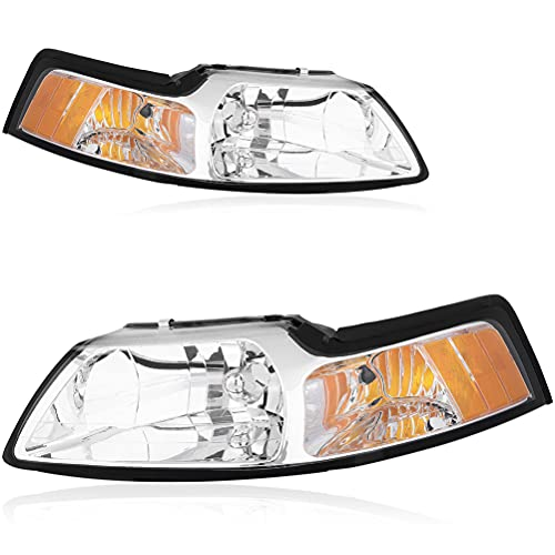 03 mustang halo headlights - 6