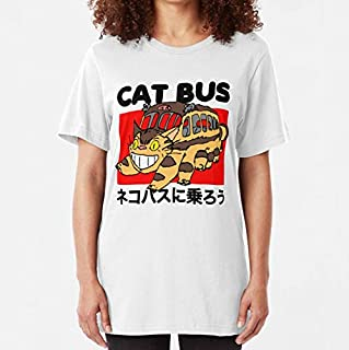 Lyalltee Cat bus from Totoro Slim Fit TShirt, Unisex T-Shirt, Hoodie, Sweatshirt For Men Women