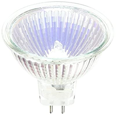 SYLVANIA 54306 - 20 Watt Halogen Light Bulb - MR16 - Tru-Aim - BAB Flood - Glass Face - 2,000 Life Hours - 12 Volt