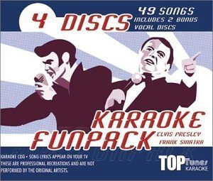 Top Tunes Karaoke CDG Elvis & Frank Fun Pack TTFP-53&54 (2001-05-03)