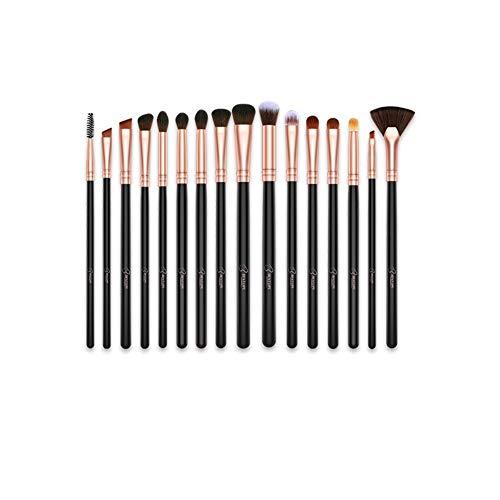 Brosse maquillage brosse maquillage de professionnel pinceau de maquillage 16 pièces pinceau fond de teint synthétique avancé fard à joues mixte farine maquillage des yeux anti-cernes pinceau de maqui