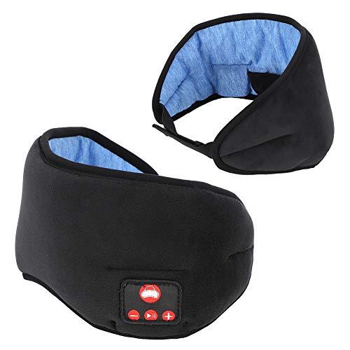 Preisvergleich Produktbild Denash Musik-Augenmaske,  Ergonomisch Gestaltete Bluetooth 5.0 Wireless Intelligent Sleep Shading Müdigkeitslindernde Augenmaske