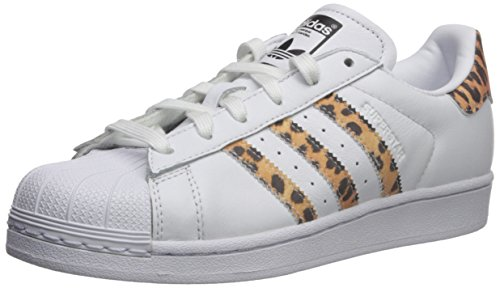 adidas Originals Damen Superstar Turnschuh, Weiß/Schwarz, 38 EU