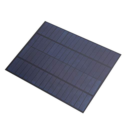 AMONIDA DIY Solar Panel Cell Battery Solar Panel Module Portable Solar Board Charging 12V Commercial Solar Panel Mountaineering Outdoor Sports for Hiking Camping