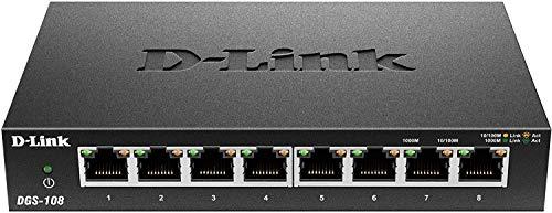 D-Link DGS-108 8-Port Layer2 Bild
