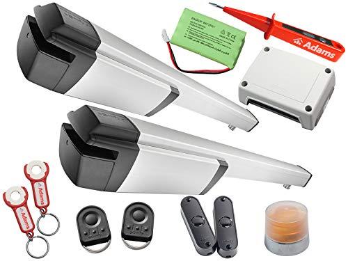 Somfy Ixengo L 3S IO KeyGo io con ADAMS colgante + panel de luz. Master Pro BiTech - Comprobador de corriente con luz de advertencia Master Pro Set Comfort Pack Io + ADAMS
