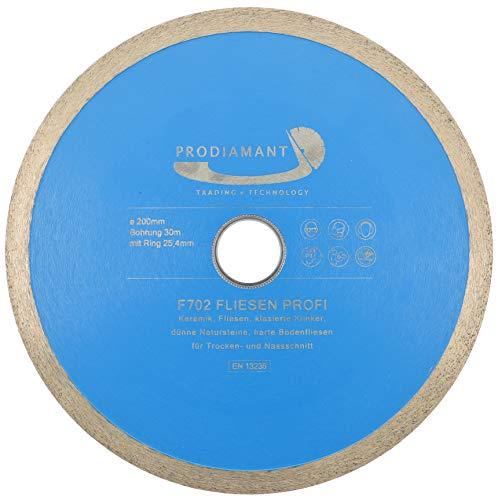 PRODIAMANT PRORIM - Disco de corte de diamante profesional (200 x 30/25,4 mm)