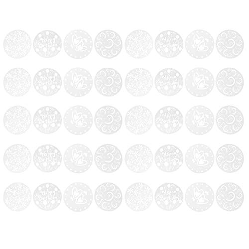 10 juegos Vender Patrón de pulverización de cuatro piezas Patrón de pulverización de pastel Patrón de impresión Molde de impresión de azúcar en polvo Tamiz Decoración de pastelería Impresión Tempalte