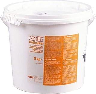Etolit Détartrant en poudre 5 kg pour machine à café, lave-vaisselle, chaudière, etc. Article en Chisko IT:197872