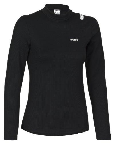 Rono heatrelease Longs t-Shirt/Polo pour Homme à col Montant zippé XL Noir (900) - Noir (900)