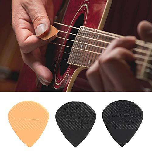 03 Rutschfester Pick-Ersatz, Gitarren-Picks, Universal Plastic Durable für Verschiedene Folk-Gitarren-Sweeping-Fingerstyle