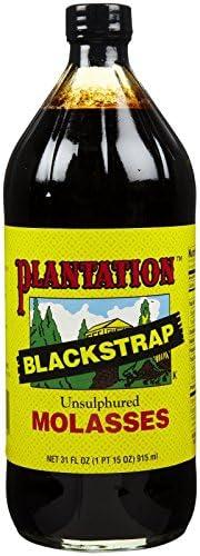 Plantation Blackstrap Molasses, Unsulfured, 31 oz pxxpx