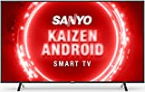 Sanyo 139 cm (55 inches) Kaizen Series 4K Ultra HD Certified Android LED TV XT-55UHD4S (Black) (2020...