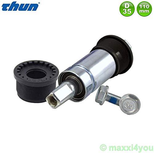 01280102-3 Thun Efficient Jive Fahrrad Tretlager Innenlager ISO JIS D35 L110 mm
