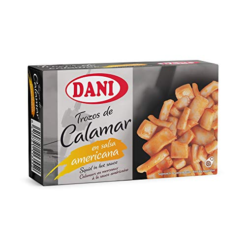 Dani - Calamar (trozos) en salsa americana - Pack 6 x 106 gr.