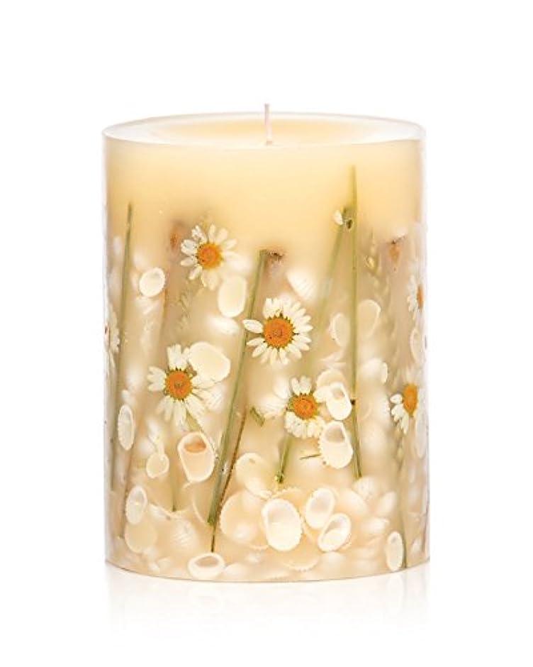 妊娠したそんなにスクラップブックロージーリングス ボタニカルキャンドル ラウンド ビーチデイジー ROSY RINGS Round Botanical Candle Round – Beach Daisy