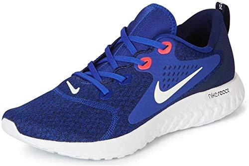 Nike Men's Legend React Running Shoe (12.5 M US, Indigo Force/White/Blue Void/Red Orbit)