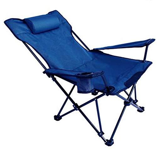 MrRong Chaise de Camping Fauteuil Pliable, Chaise de Camping Fauteuil Pliable avec Porte-Boisson et Sac de Transport