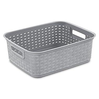 STERILITE 12726A06 Cement Short Weave Basket