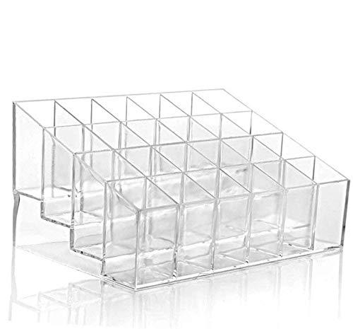 Lubier 1 Stück Transparent Lippenstift Organizer Lippenstifthalter Aufbewahrung Acryl...