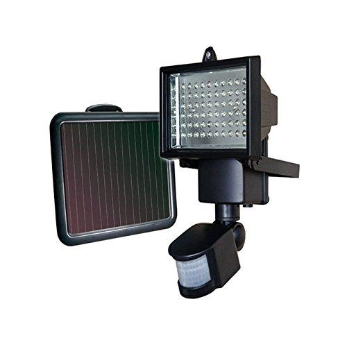2 piezas 60 LED lámpara solar solar lámpara de pared Foco