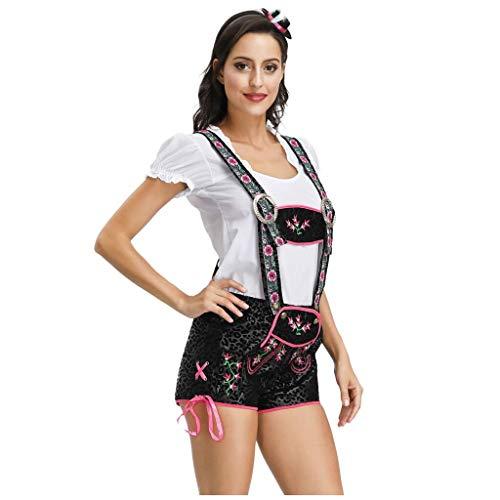 DUJIE Halloween Kostüm Damen Cosplay Sexy Party Zubehör Halloween Show Oktoberfest Dienstmädchen...