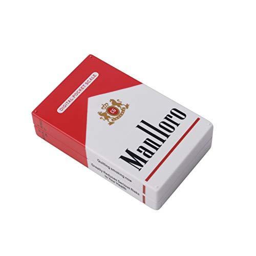 siwetg Digi - Funda para Cigarrillos (portátil, 100 g, 0,01 g), Color Azul