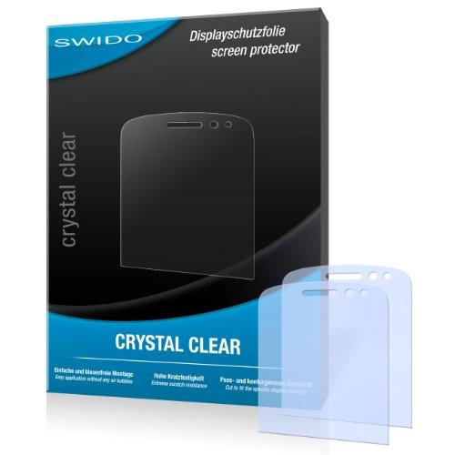 SWIDO Bildschirmschutz für BlackBerry Q10 [4 Stück] Kristall-Klar, Hoher Festigkeitgrad, Schutz vor Öl, Staub & Kratzer/Schutzfolie, Bildschirmschutzfolie, Panzerglas Folie