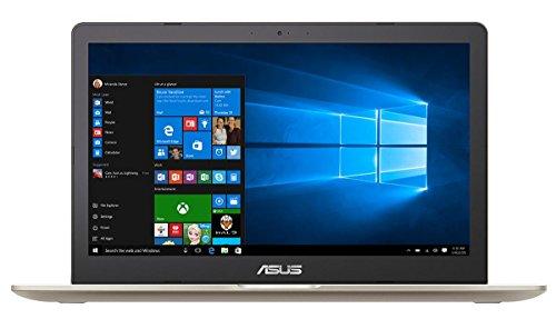 ASUS VivoBook Pro N580VD-DM129T notebook/portatile Oro Computer portatile 39,6 cm (15.6') 1920 x 1080 Pixel 2,8 GHz Intel Core i7 di settima generazione i7-7700HQ