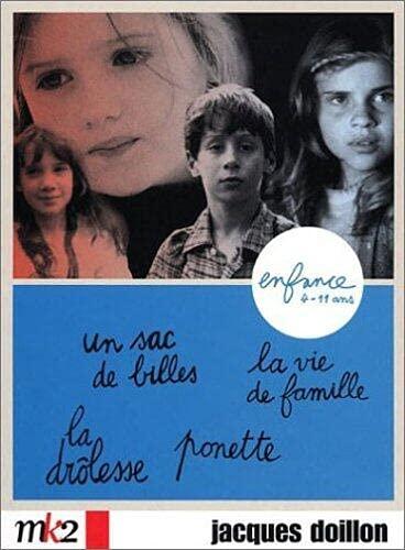 Coffret Jacques Doillon 4 DVD - Enfance : Ponette / La Vie de famille / La Drôlesse / Un sac de bille