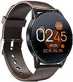 LLM QS09 Smart Watch IP67 wasserdichte Herzfrequenz Schlafüberwachung Fitness Tracker Musiksteuerung Sport HD Full Touchscreen(A)
