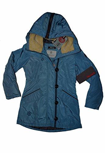 Reset Kinder Mädchen Winterjacke Parka Coat Jacket Jacke in blau Gr 128 8