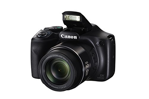 Canon PowerShot SX540 Digital Camera w/ 50x Optical Zoom - Wi-Fi & NFC Enabled...
