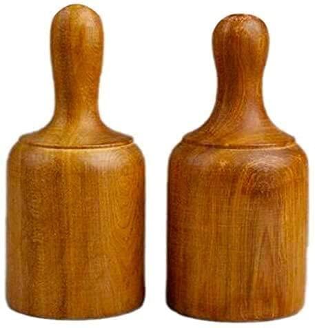 YBINGA 2 unids madera fragante tazas terapia cuerpo Cupping masaje conjunto acupuntura madera vacío alivio del estrés salud cuidado Partes de aspirador