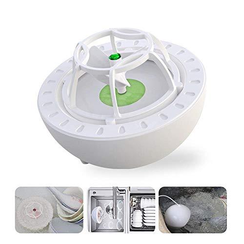 Lesgos Mini-Geschirrspüler, USB Tragbarer Hochdruck-Spülmaschinenreiniger für Obst, Gemüse, Geschirr, Schüssel, Essstäbchen