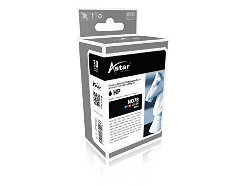 Astar AS15078 Tintenpatrone kompatibel zu HP NO78 C6578A, 1200 Seiten, color