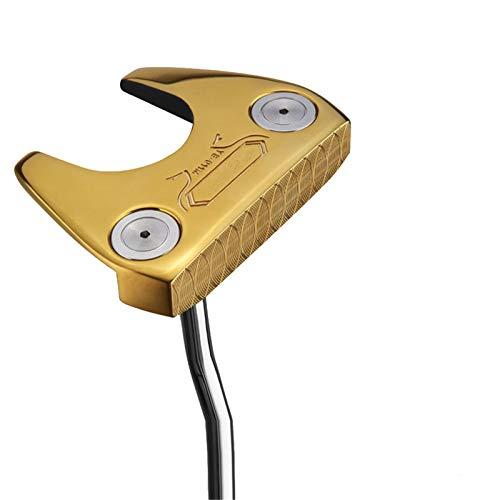 NgMik Gap DE Golf Wedge Derecho Derecho Golf Sand Wedge Golf Club Wedge para Hombres Corta rápidamente los Trazos (Color : Gold, Size : One Size)