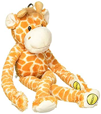 Multipet Swingin 22-Inch Large Plush Dog Toy with Extra Long Arms and Legs with Squeakers