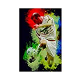Zinedine Zidane Poster Fußball Bild 1 Leinwand