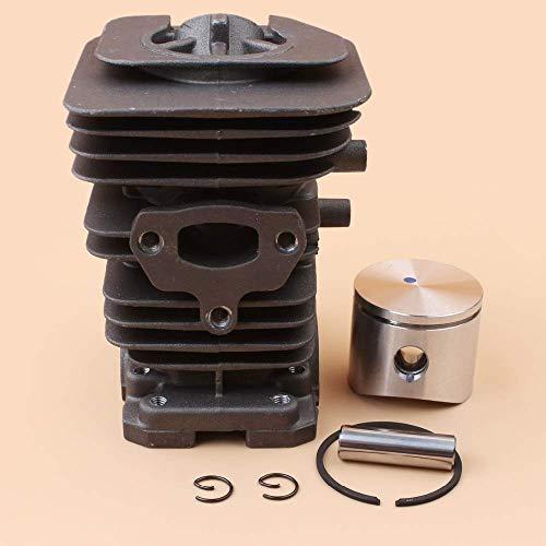 Kit de motor de anillo de pistón de cilindro de diámetro grande de 40MM apto para Husqvarna 141142136137 Jonsered 2040 CS2040 piezas de motor de motosierra