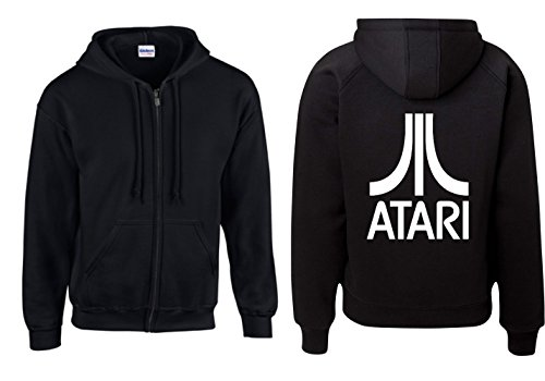 Jacke - Atari Groß (Schwarz, 5XL)