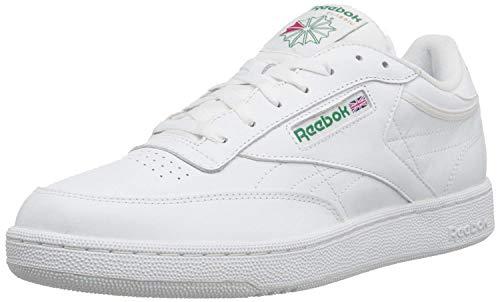 Reebok Club C del Hombre Zapatillas, Blanco (Blanco), 11 2E
