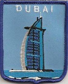 United Arab Emirates Uae Dubai Drapeau Brodé Patch (a428)