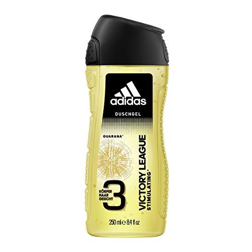 adidas Victory League 3in1 Duschgel für Herren, 6er Pack (6 x 250 ml)