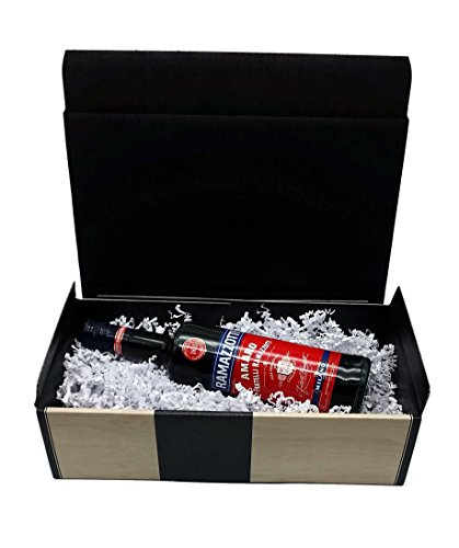 Ramazzotti 70cl (30% Vol) mit hochwertigem Geschenk Karton in edler Holzoptik