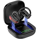 Auriculares Inalambricos Deportivos, Auriculares Bluetooth 5.1 IP7 Impermeable Cascos Inalambricos con Mic, 40H Estéreo Cancelación de Ruido, Carga Rápida USB-C, In-Ear Auriculares Deporte/Running