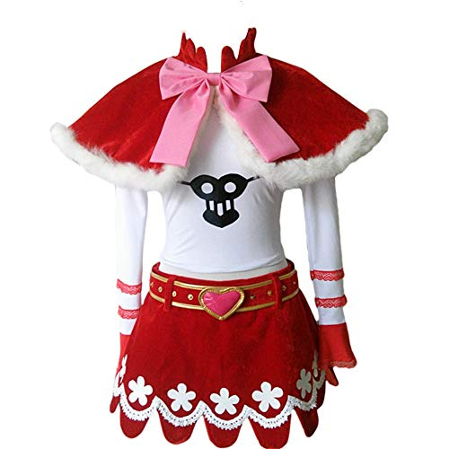 Perona Prinzessin Mononoke Cosplay Kostüm - Mehrfarbig - Medium