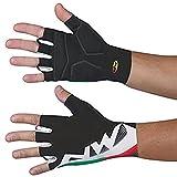 Northwave verano 2015extrema gráfico corto dedo guantes, color negro, tamaño XL