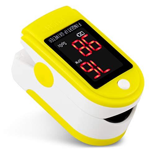 Vingertop Bloed Zuurstof Saturatie Monitor LED-Scherm Digitale Metingen Van Hartslag En Spo2-Niveau Geschikt Voor Exercise And Travel Gebruik