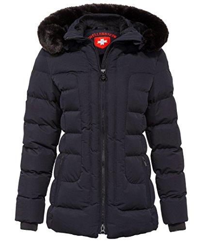 Wellensteyn Damen Belvedere Medium Jacke, Blau (Midnightblue Mdb), Large